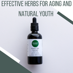 Natural herbs for aging and youth