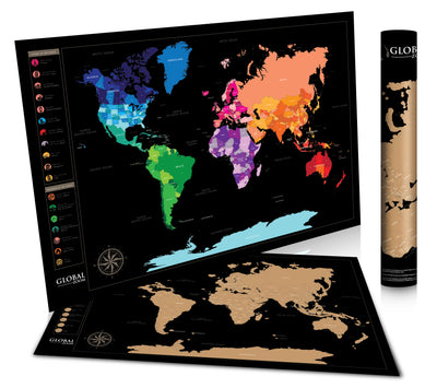 Scratch Off World Map Poster.Scratch Off World Map Poster Royalty Pick