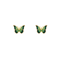 Load image into Gallery viewer, Cute Butterfly Stud Earrings