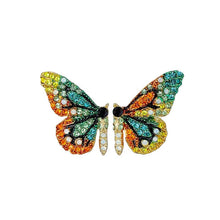 Load image into Gallery viewer, Enchanting butterfly earrings