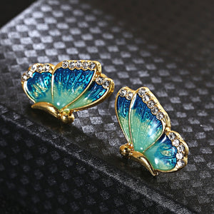 Brilliant Rhinestone Earrings
