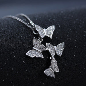 925 Sterling Butterfly Jewelry Set