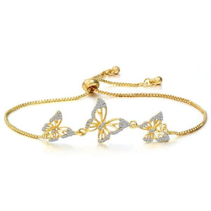 Exquisite Butterfly Bracelet
