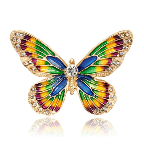 Delightful Butterfly brooch