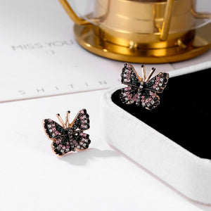 Glamorous Butterfly Earrings