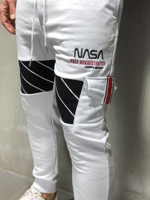 Cargo Sweatpants NASA Embroidery 4211