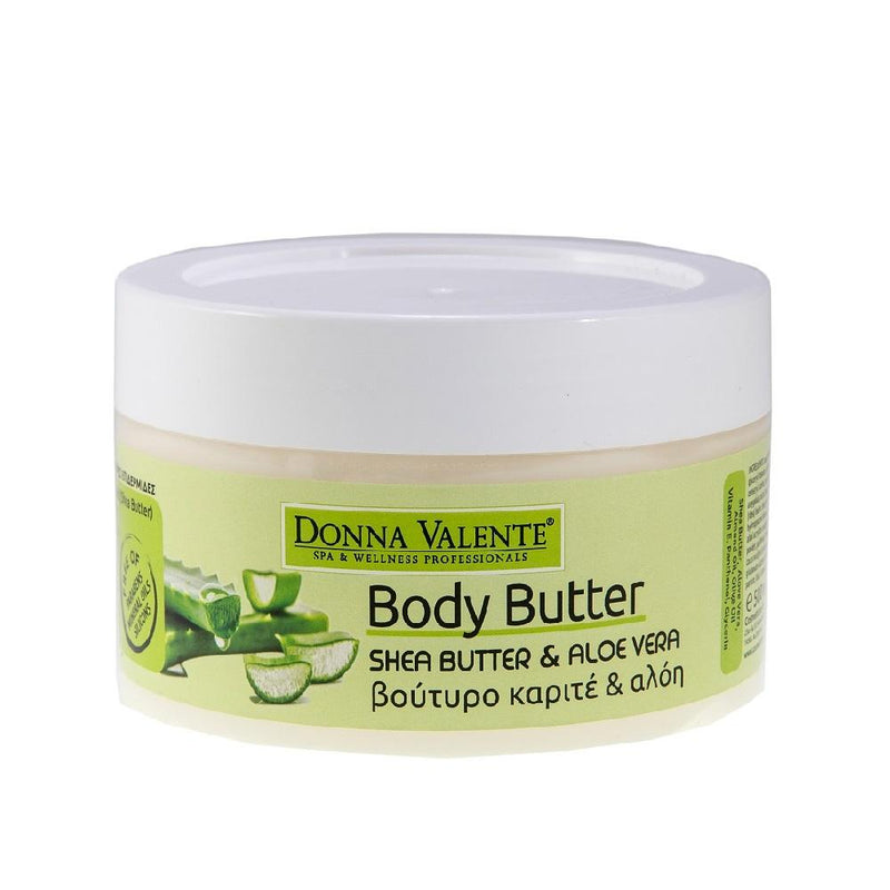 Donna Valente Body Butter - Shea Butter & Aloe Vera Extract - 500ml