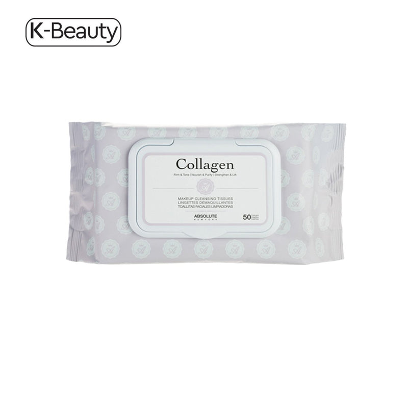 Absolute New York Collagen Premium Makeup Cleansing Tissues (50 ct.) 14.4 oz / 408.23 g