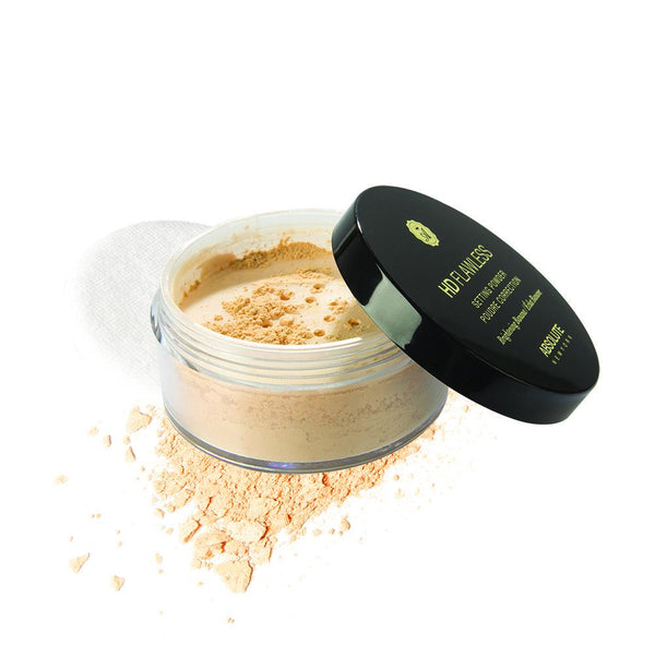 A fair yellow, translucent loose face powder that comes in a sifter jar and with a powder puff. Photo-friendly, no flashback or white-cast.