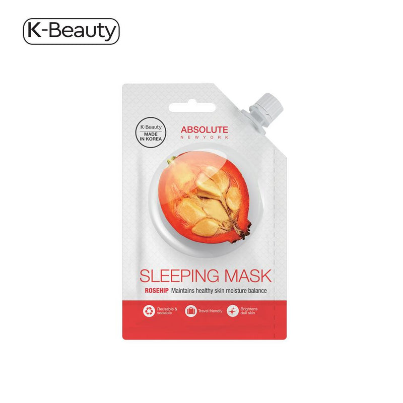 Absolute New York Rosehip Sleeping Spout Mask - 1 Pair, 0.882 fl. oz / 26.08 mL