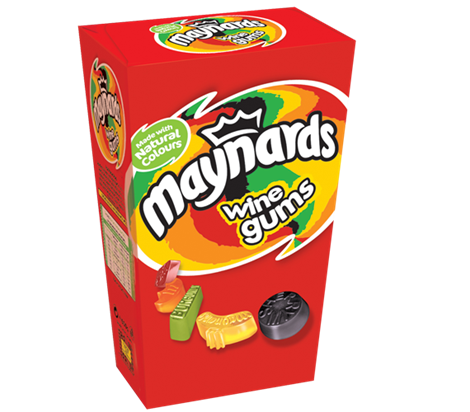 Maynards Wine Gums 400g Carton