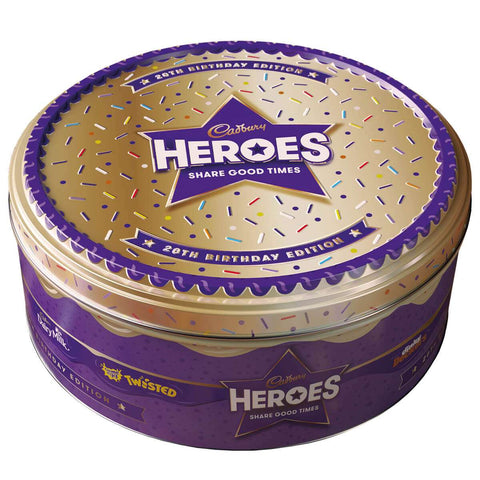Cadbury Heroes 20th Anniversary Collector Tin