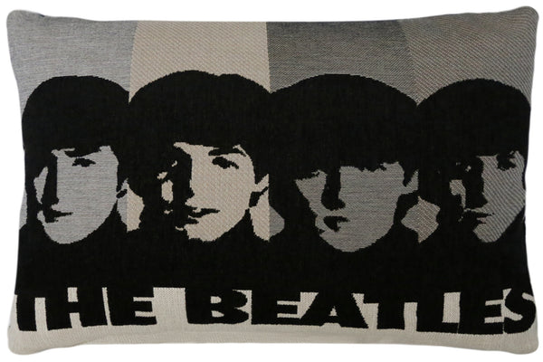 The Beatles, Faces Sand Tapesty Pillow