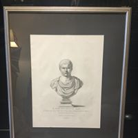 3rd Male Bust Print 18th Century