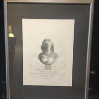 Female Bust Print 18th Century