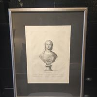 2nd Male Bust Print 18th Century