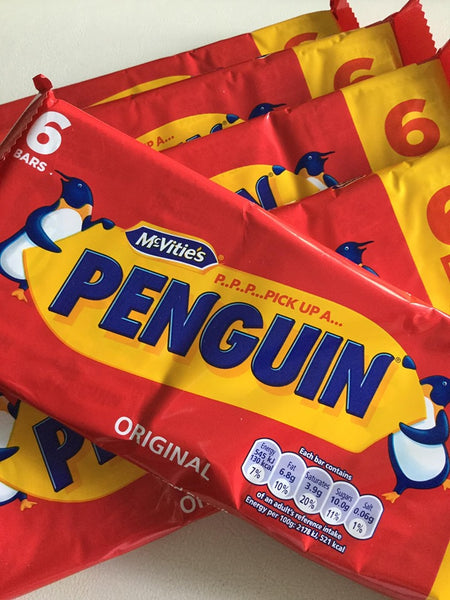 McVitie's Penguin Bars - 6 pack