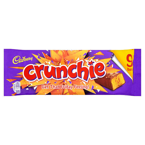 Cadbury Chrunchie Bar - Multipac 9pc
