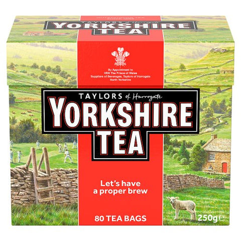 Yorkshire Tea  - Red Box 80 bags