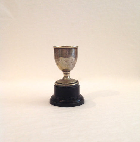 Silver Plated Trophy era 1930