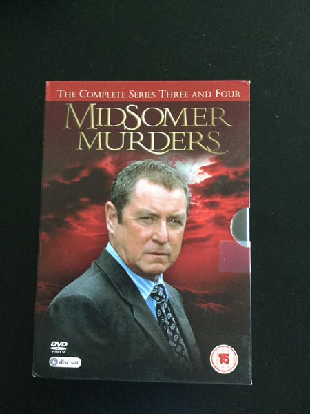 Midsomer Murders - The Complete Series 3 and 4 USED