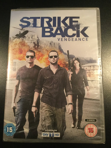 Strike Back Vengeance - NEW - British Import