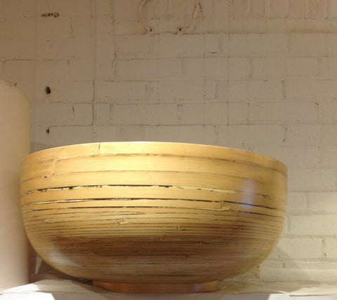 Spun Bamboo Bowl - Grand