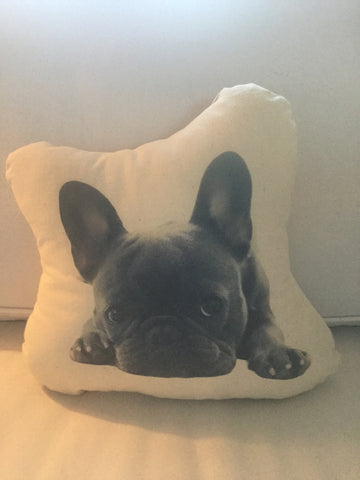 French Bulldog Stuffy Canvas Pillow