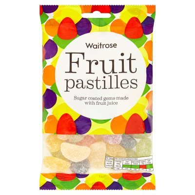 Waitrose Fruit Pastilles  200g