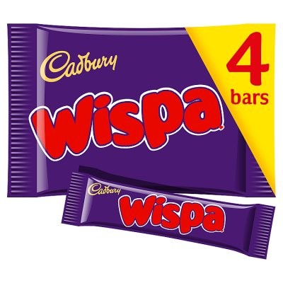 Cadbury Wispa Bars  Multi pac of 4