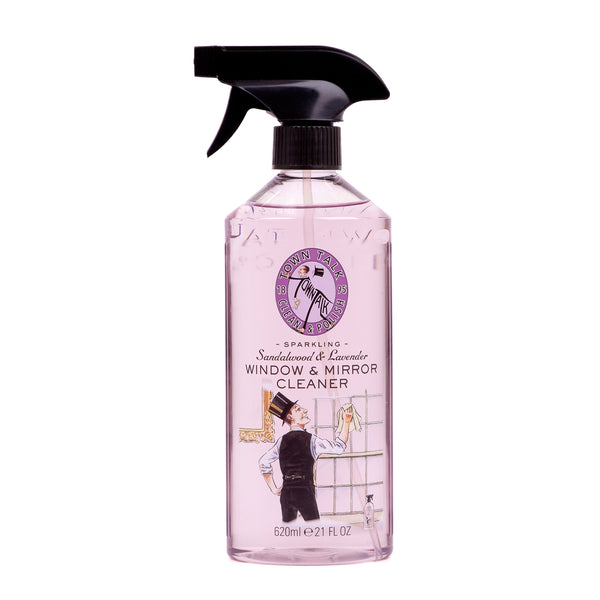 Town Talk Sandalwood & Lavender Window & Mirror Cleaner