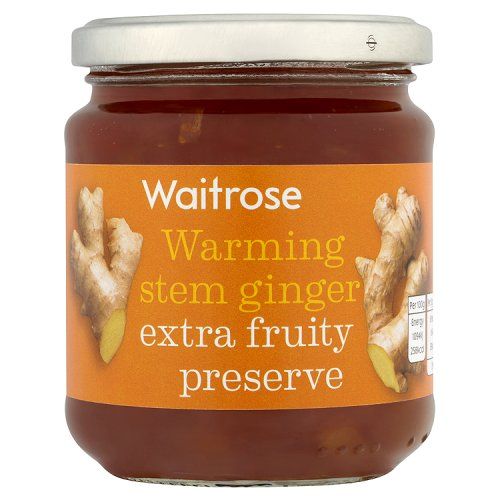 Waitrose Warming stem ginger extra fruity preserve 340 g