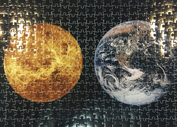 Earth and Moon Puzzle