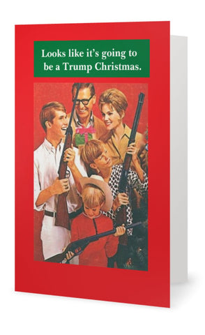 Looks like another Trump Christmas -- Christmas