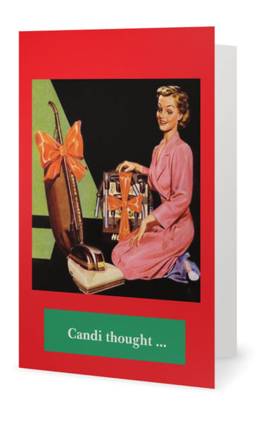 Candi thought ... -- Christmas