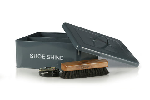 Retro Shoeshine Box