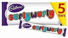 Cadbury Curlywurly - Multi pac of 5 pieces - British Import