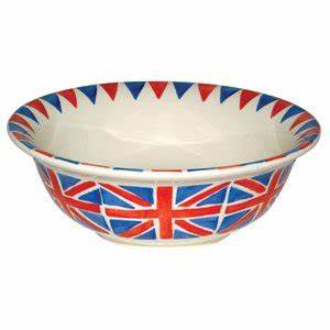 Emma Bridgewater Union Jack Cereal Bowl Set of 4