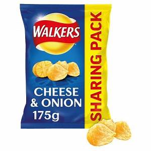 Walkers  Cheese & Onion 175g