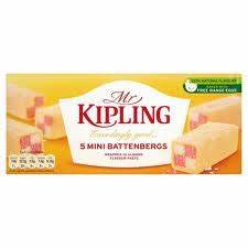 Mr Kipling Mini Battenberg Cake-- PRE BOOK SPECIAL CASE