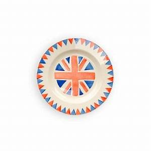 Emma Bridgewater Union Jack Lunchen PlatesSet of 4