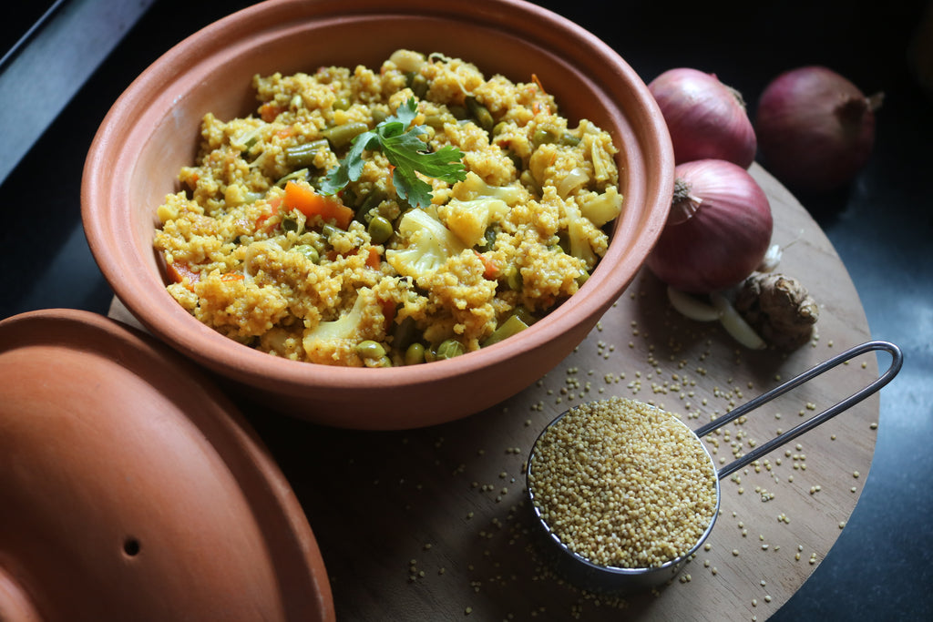 Foxtail Millet Biryani - Wholesome, Healthy And Flavorful
