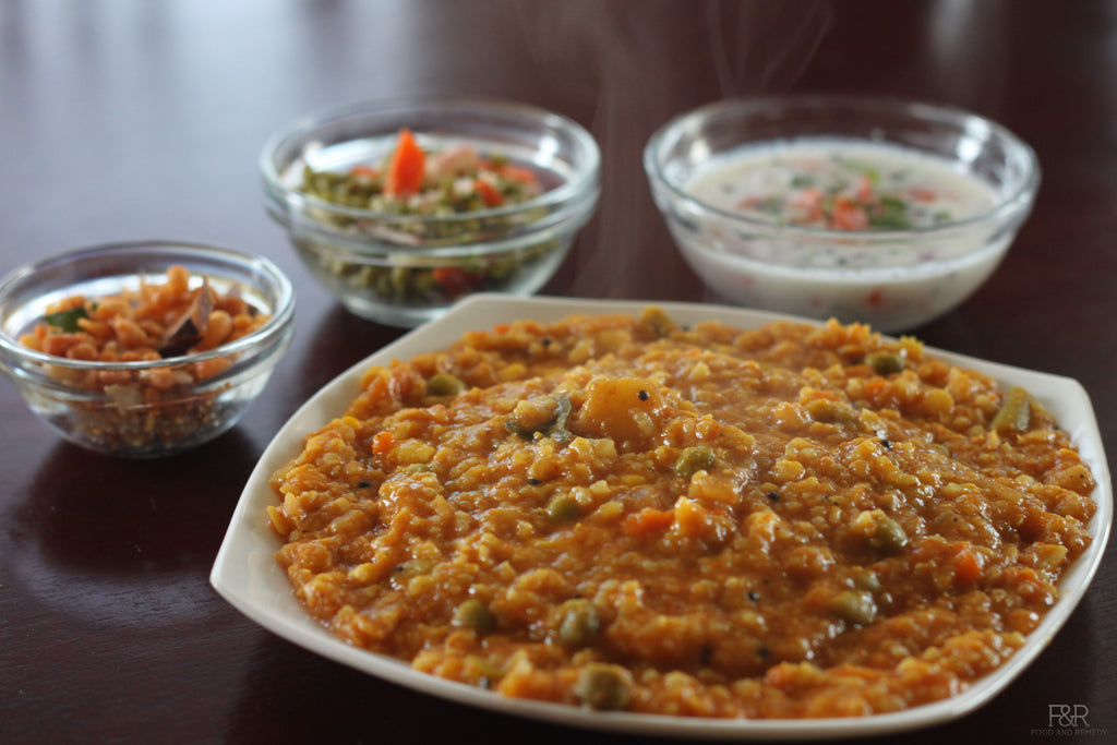 Healthy Food For Kids And Adults - Kodo Millet Or Sprouted Ragi Powder Upma