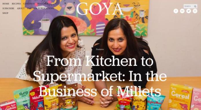 In the Business of Millets Goya Journal