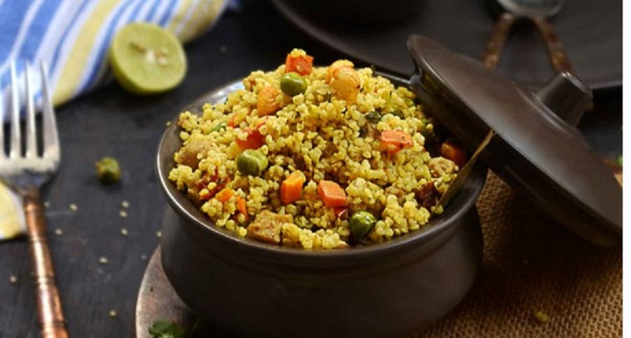 Foxtail Millet Vegetable Or Chicken Biryani