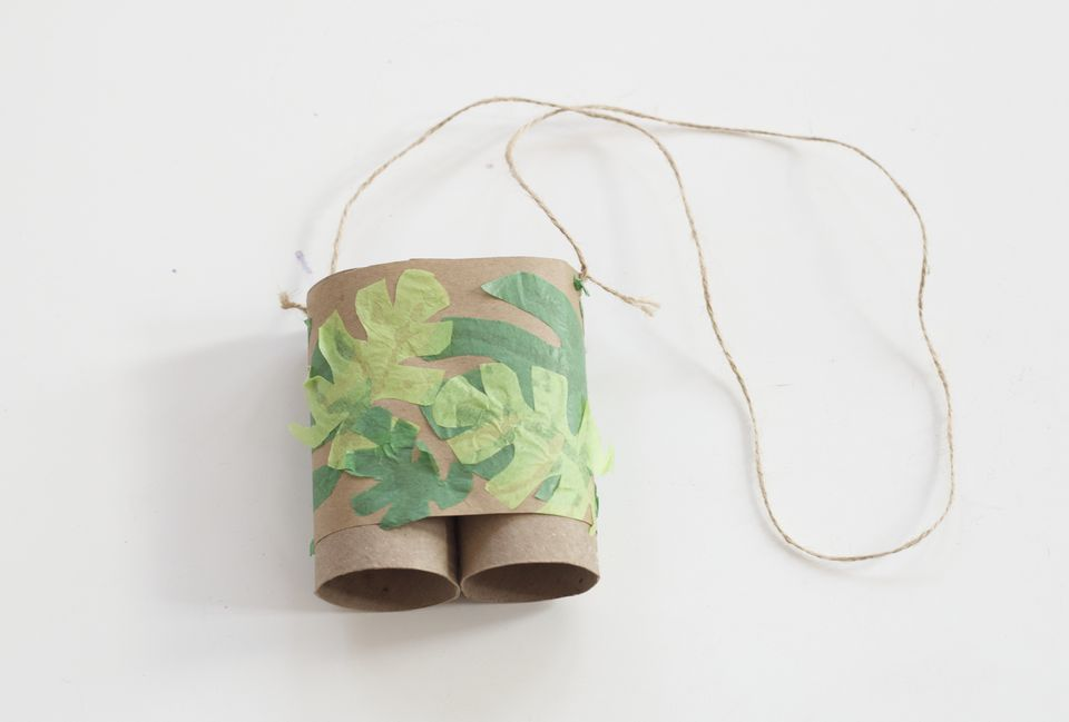 Toilet Paper Roll Binoculars - Craft Activities
