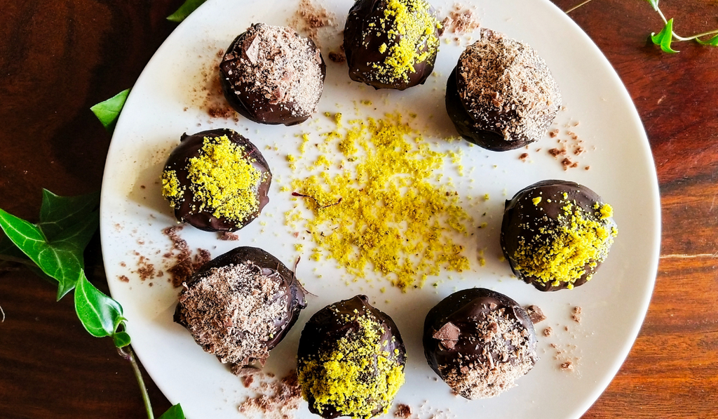 Learn How To Make Ragi Chocolate Truffles