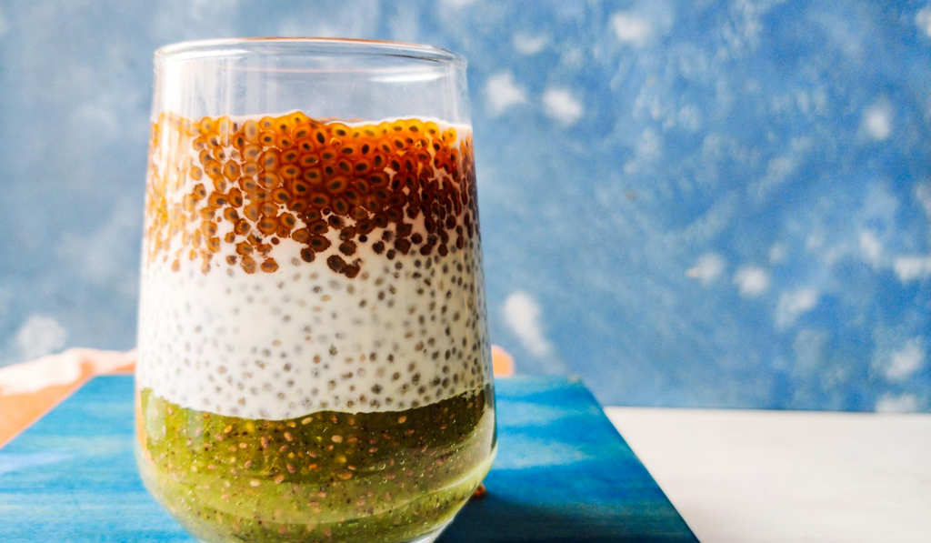 Tricolor Recipe - Yummy Chia Pudding