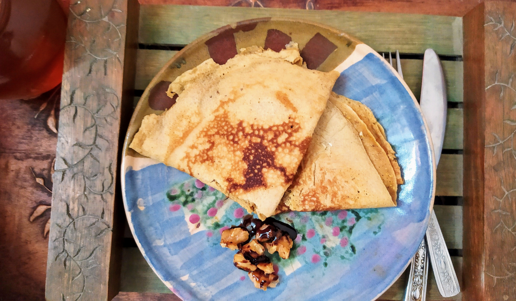 Vanilla Pancake Mix Easy Crepes