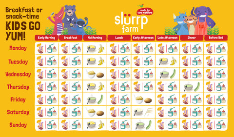 6 Months Baby Food Chart for Indian 03